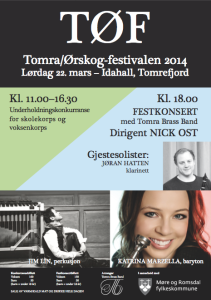 Plakat TØF 2014